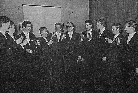Gründungsmitglieder des Collegium musicum Steinfurt